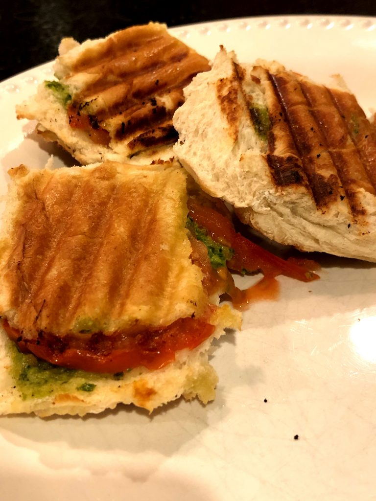image of fresh pressed panini one of the vegan recipes kids beg for